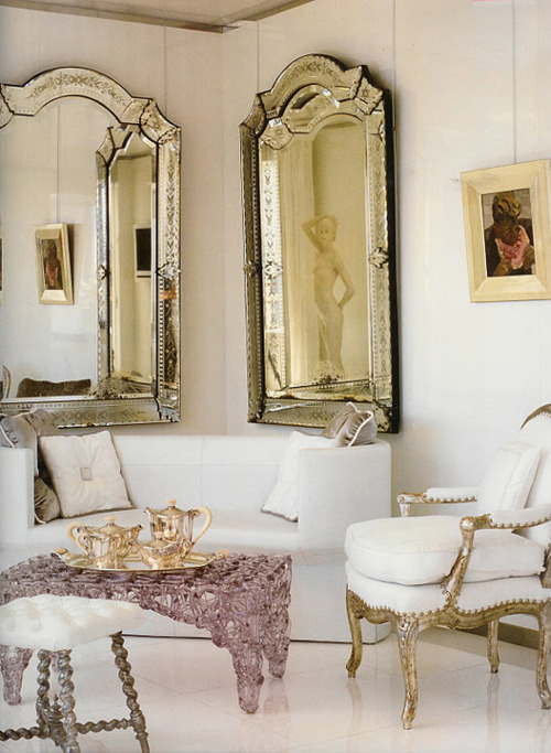 decorating with mirrors rose abby design. Black Bedroom Furniture Sets. Home Design Ideas